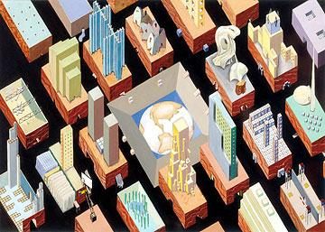 レム・コールハース《囚われの地球人の都市》