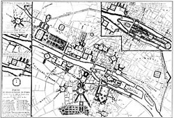 ルイ15世広場のために提案された主要な計画