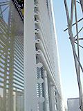 《Times Building》、セラミックのルーバー