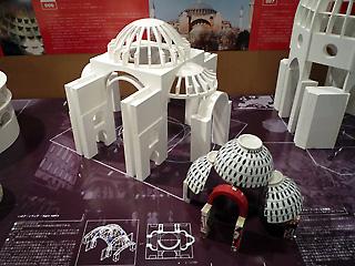 ハギア・ソフィア大聖堂、模型
