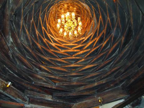 177 トルコの木造ドーム